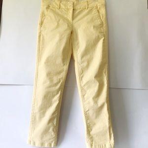 Yellow Trousers, LOFT Marisa, Office Pants